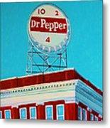 Dr Pepper Sign Roanoke Virginia Metal Print