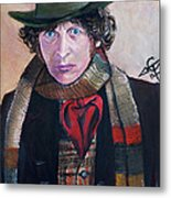 Dr Who #4 - Tom Baker Metal Print