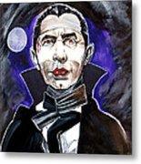 Dracula Bela Lugosi Metal Print