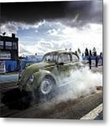 Drag Racing 1 Metal Print
