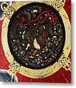 Dragon At The Senso-ji Temple Metal Print