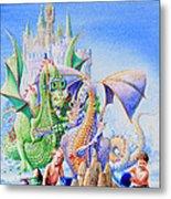 Dragon Castle Metal Print