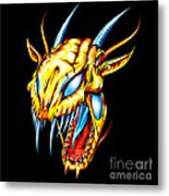 Dragon Head Metal Print