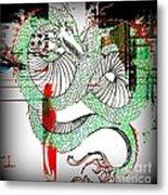 Dragon Inverted Metal Print