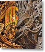 Dragon Metal Print by Karen Walzer