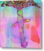 Dragon Kite Metal Print