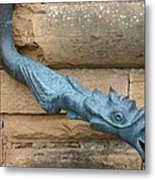 Dragon Waterspout  Chateau De Cormatin Metal Print