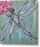 Dragonfly Baby Metal Print