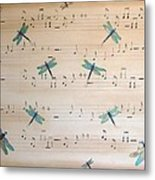 Dragonfly Symphony Metal Print