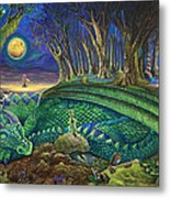 Dragon's Slumber  Metal Print