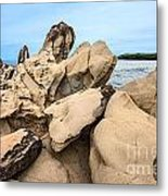 Dragon's Teeth Closeup Metal Print