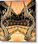 Dragon's Temple Metal Print