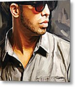 Drake Artwork 2 Metal Print