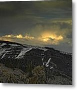 Drama Is Coming Metal Print