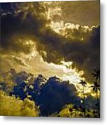 Drama Over Cocora Metal Print