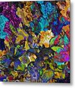 Dramatic Blooms 01 Metal Print