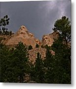 Dramatic Rushmore Metal Print