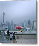 Dramatic Shanghai Metal Print