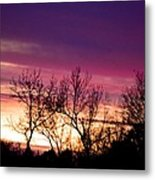 Dramatic Sunrise-l Metal Print