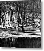 Dramatic Waterway Metal Print