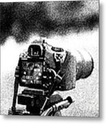 Draw Camera Metal Print by Stefano Piccini