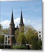 Drawbridge - Delft - Netherlands Metal Print