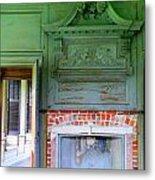 Drayton Fireplace 2 Metal Print