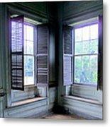Drayton Interior Window 2 Metal Print