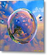 Dream Bubble Metal Print by Robin Moline