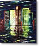 Dream City Metal Print