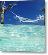 Dream Hammock. Metal Print by Sean Davey