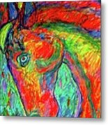Dream Horse Metal Print