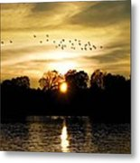 Dream Of A Sunset Metal Print