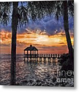 Dream Pier Metal Print