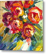 Dream Roses Metal Print
