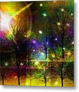 Dream Time In The Park Metal Print by Sydne Archambault