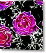 Dream With Roses Metal Print