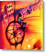 Dreamcatcher Metal Print by Ruben Santos