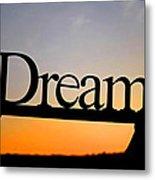 Dreaming At Sunset Metal Print