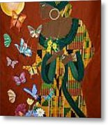 Dreaming Butterflies Metal Print