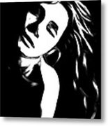 Dreaming Girl Metal Print