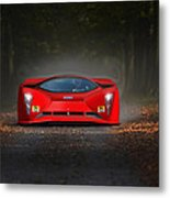 Dreaming In Rosso Corsa... Metal Print
