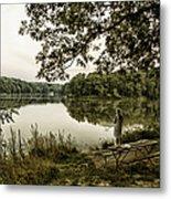 Dreaming Of Fishing At Argyle Lake Metal Print