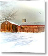 Dreams Of A White Christmas Metal Print