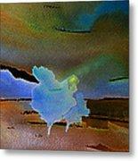 Dreams Of Blue Trees Metal Print