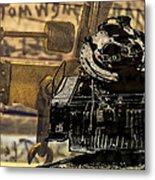 Dreams Of Trains Past Metal Print