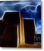 Dreamtime Adobe Metal Print