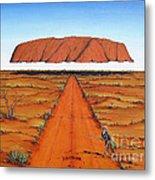 Dreamtime Australia Metal Print