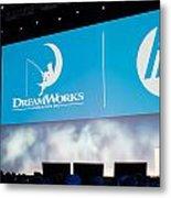 Dreamworks Ceo Jeffrey Katzenberg Metal Print