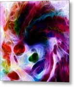 Dreamy Face Metal Print